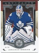2015-16 Artifacts JONATHAN BERNIER #104 Toronto Maple Leafs 184/999  /999