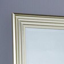 Spiegel Wandspiegel im modernen Shabby Chic gold 130x50 cm Wohnzimmer Flur