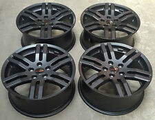 "18"" GENUINE SPORTLINE BLACK LOAD RATED ALLOY WHEELS FIT VW TRANSPORTER T5 T6"