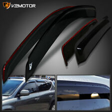 For 2003-2007 Nissan Murano Smoke Window Visors Rain Guard Vent Shade Deflector