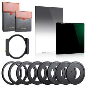 K&F Concept Metal Square ND1000 + GND8 Filter Frame Set Gradient 10 Gears