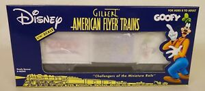 "AMERICAN FLYER #6-48349 DISNEY ""GOOFY"" BOX CAR-NIB!"
