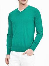 Banana Republic L V-Neck Regular Size Sweaters for Men