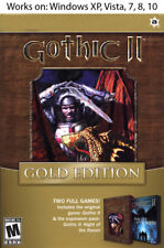 Gothic II 2 Gold Edition PC Win XP Vista 7 8 10 More Games in Store