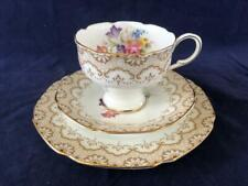 GOOD VINTAGE PARAGON FINE BONE CHINA LAMORNE CUP, SAUCER AND PLATE. #1