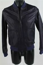 giubotto giubbotto in pelle jeckerson jacket later 48 M giacca bomber bomberino