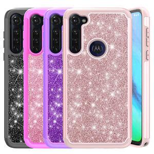For Motorola Moto G Stylus Case Luxury Bling Shockproof Hybrid TPU Phone Cover