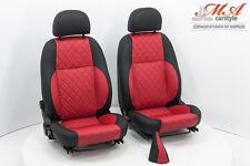 Neu-Beziehen der Sitze aus Fiat Barchetta mit Echtleder