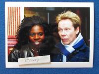 "Original Press Photo - 8""x6"" - Sex Pistols - Paul Cook & wife Jeni Cook - 2002"