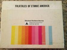 Folktales of Ethnic America (6) Filmstrips/Cassettes Rare Educational Enrichment