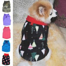 Small Pet Dog Warm Fleece Vest Coat Puppy Shirt Sweater Clothes Winter Apparel