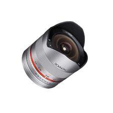 Samyang 8mm f/2.8 UMC Fish-eye II for Sony Nex E Silver New