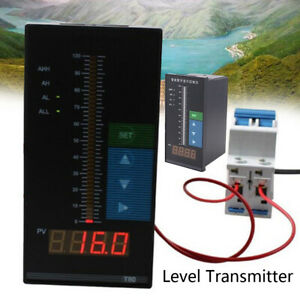 Digital Submersible Water Level Transmitter Level Transducer Sensor + 6m Cable