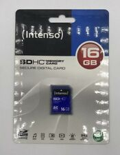 Intenso 16GB SDHC Memory Card Secure Digital Card 16GB für Musik Dokumente Foto