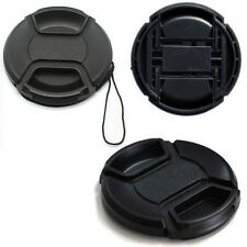 NEW 58mm Center Pinch Front Lens Cap Cover For NIKON Canon DSLR Camera