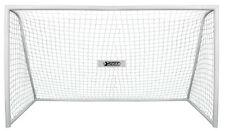 Best Sporting Fussballtor 75mm Rohre 366 x 198 x 152 cm Fußball Tor 11098 weiß