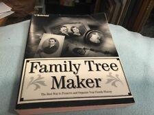Broderbund Family Tree Maker MANUAL ONLY