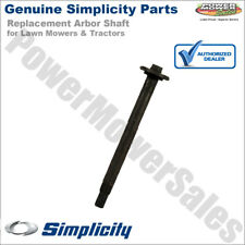 Genuine Simplicity Repl Arbor Shaft for Lawn Mowers & Tractors / 1713612SM