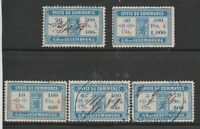 Luxembourg revenue fiscal Cinderella stamps collection mix  ml460