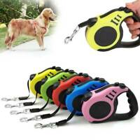 Dog Leash Retractable Walking Rope Small Pet Collar Belt Automatic Traction 10FT