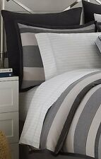 Nautica LONDON HARBOR 9 piece FULL Comforter Set Shams Sheets Skirt RARE NEW