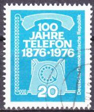DDR Mi.-Nr. 2118 gestempelt 20 Pf. 100 Jahre Telefon