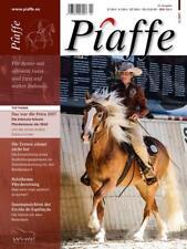 Piaffe-Magazin 01//2007 Erste Ausgabe NEU Magazin für klassische Reitkunst