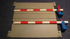 LEGO Eisenbahn alt 4,5V / 12V Bahnübergang + Abdeckung
