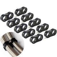 10Pcs/lot -12AN Hose Separator Clamp Bracket Adapter for 3/4 Oil Fuel Hose Line