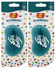 Jelly 3D Bohnen Süßigkeiten Duft Auto Lufterfrischer - Blueberry 2 Packung