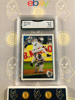 2009 Topps Derek Jeter #353 Yankees - 10 GEM MINT GMA Graded Baseball Card