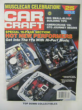 Car Craft Magazine  January 1989   1964 Pontiac GTO, Musclecar Classics