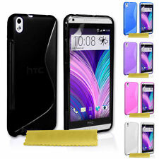 Apple Silicone/Gel/Rubber Cases, Covers & Skins for HTC