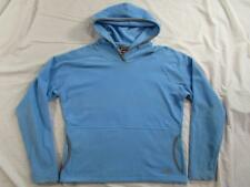 Womens The North Face TKA 100 Lightweight Hooded Fleece Pullover Sz Large Jacket