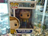 FUNKO POP! MOVIES - STAR TREK BEYOND VINYL FIGURE - CAPTAIN KIRK 347 IN BOX