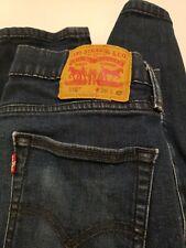 "Levi 510 Mens jeans 30 x 32 Super Skinny Dark Wash Stretch 28"" Waist  32"" Inseam"