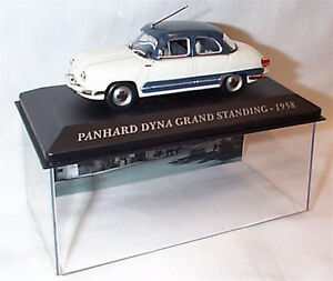 Panhard Dyna Grand Standing 1958 Cream Grey/blue roof 1-43 scale  new in case