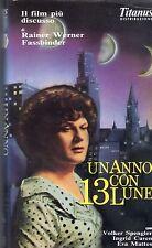 Un anno con 13 Lune (1978) VHS Titanus  Rainer Werner Fassbinder Ingrid Caven