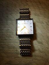 Philip Watch Prelude Carre Square Elegant 30mm Stainless Steel Bracelet - Mint!!
