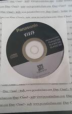 TV Panasonic tx-p42st30e tx-p46st30e tx-p50st30e TQB0E2075X ISTRUCTION CD
