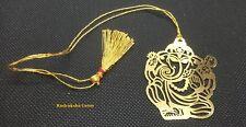 Ganesha Ganesh Car Hanging Golden metal Bookmark - tassel Party Favors multi use