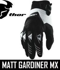 Guantes de motocross negros Thor