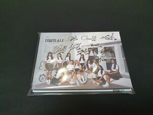 LOONA + + ALL MEMBER Autographed Signed Album