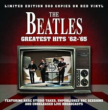 Beatles Greatest Hits 1962-65 - NEW SEALED RED Vinyl! Import