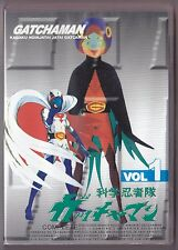 Gatchaman vol 1 DVD 1-10 HK Import Anime w/Eng subs Sentai Battle of the Planets