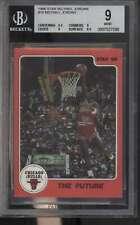 1986 Star Michael Jordan #10 Michael Jordan HOF The Future BGS 9 MINT 67165