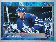 NHL 623 Alexei Kudashov Edmonton Oilers Top Rookie Score 1994/95