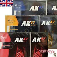 2 x Palio AK47 Table Tennis Bat Rubbers 1 red + 1 black CHOOSE HARDNESS UK Shop