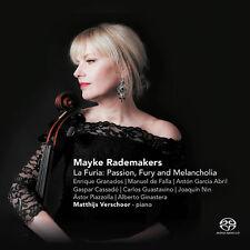 Cello / Mayke Radema - La Furia: Spanish and Latin American Cello Works [New SAC