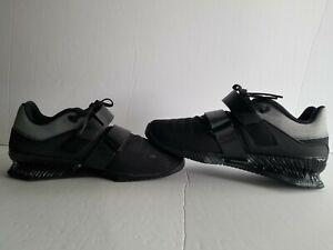 Men's Nike Romaleos 4- Sz 9, BK/WH/BK